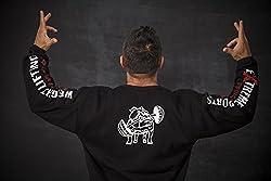 BIG SAM Sweater Sweatshirt Jacket Hoody UNCLE BODY DOG Logo *4524*
