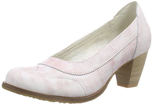 dkodeValdis - Scarpe con Tacco Donna , Rosa (Pink (Old Rose 004)), 36