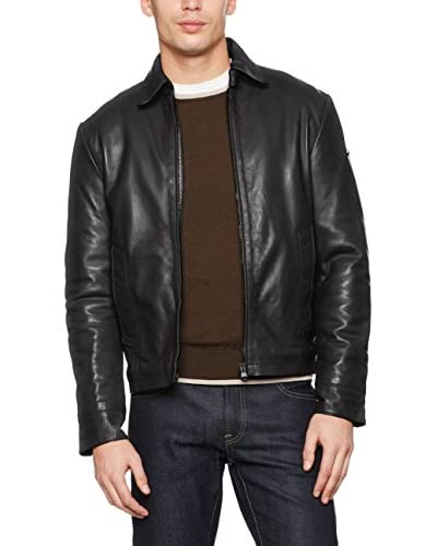 REFRIGIWEAR Cazadora Piel Leather Kimmel Jacket Marrón