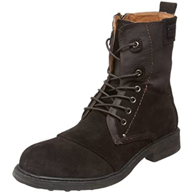 guess s barrington boot brown 7 m us shoes
