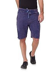 Elaborado Men's Casual Shorts - Navy - 36 - EAIS5121NA5