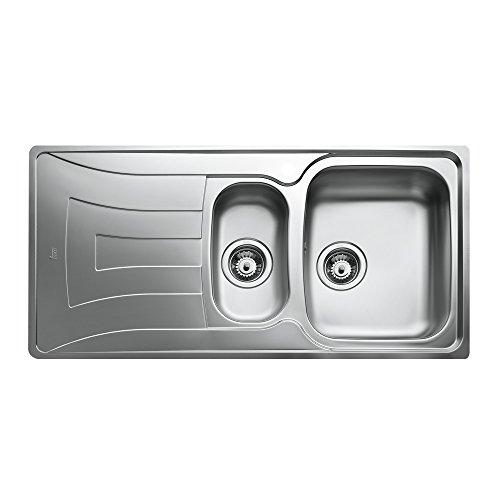 Teka cn lavello da cucina lavandino in acciaio inox for Lavandino acciaio inox