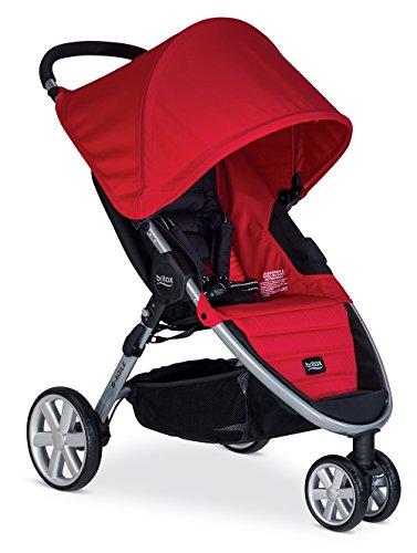 Britax B-Agile 3 Stroller - Red - 1