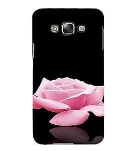 PrintVisa Rose Design 3D Hard Polycarbonate Designer Back Case Cover for Samsung Galaxy E7