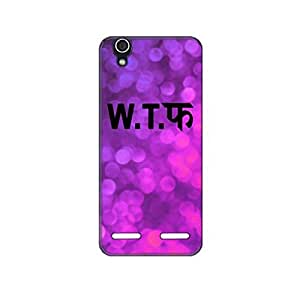 Vibhar printed case back cover for Lenovo A6000 Plus WTF