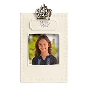 Grasslands Road Everyday Life Photo Frame, Miss April, 2.5 by 2.5-Inch
