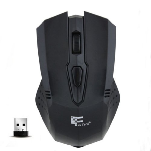 Towallmark(Tm)2.4Ghz Black High Speed Wireless Optical Gaming Mouse For Laptop Pc
