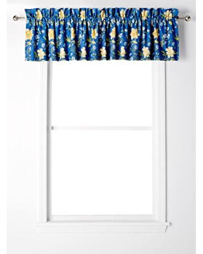 Laura Ashley Emilie Window Valance, Blue