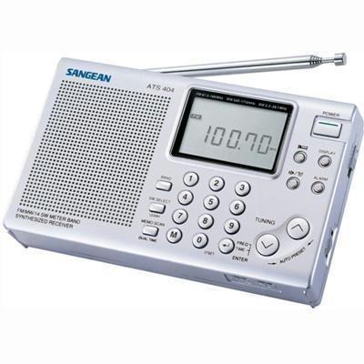 Ats404 - Am Fm Stereo Sw Radio ats