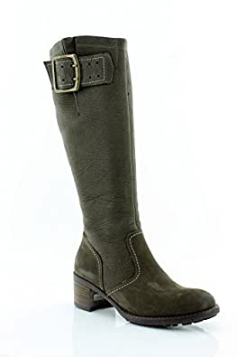 Paul Green Optimist Women's Boots Graphite Nubuk Size 10 M