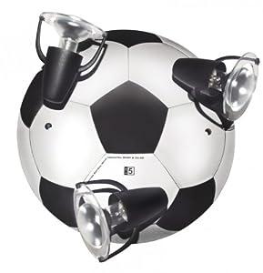 WALDI DECKENLEUCHTE FUßBALL 3-FLG.