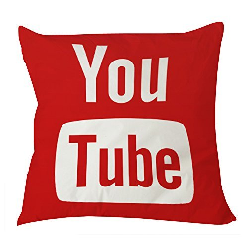 youtube-icon-social-media-pillow-case-20x20-one-side