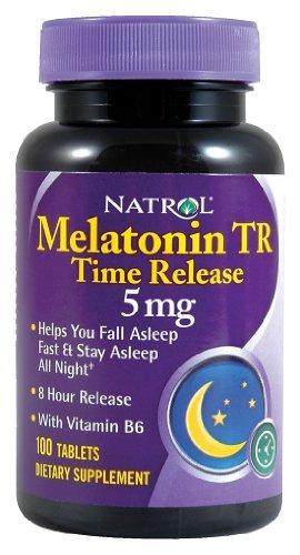 Natrol - Melatonin temps presse, 5 mg, 100