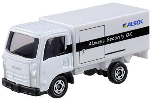 Tomica No.34 ALSOK cash transport vehicles (box) - 1