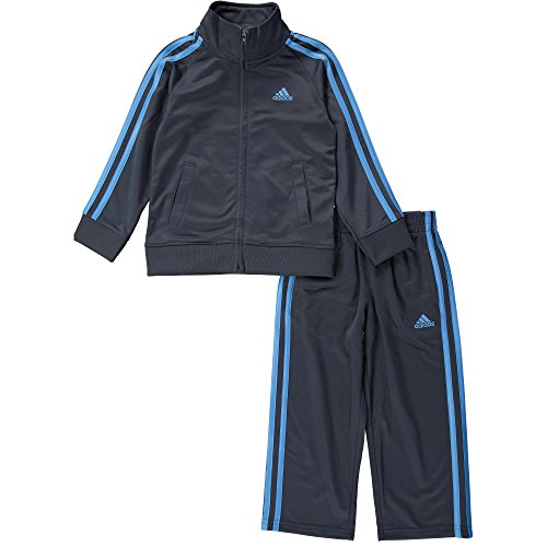 Adidas Little Boys' Action Tricot Set, Dark Grey, 7