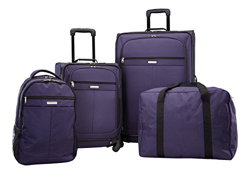 american-tourister-lightweight-four-piece-spinner-set-21-28-backpack-duffel-only-at-amazon-navy