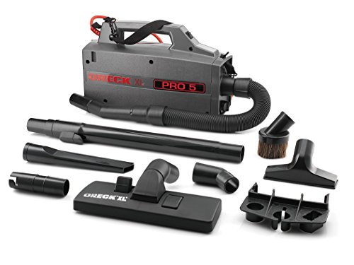 Oreck Commercial BB900DGR XL Pro 5 Super Compact Canister Vacuum, 30' Power Cord (Oreck Xl Pro 2 compare prices)