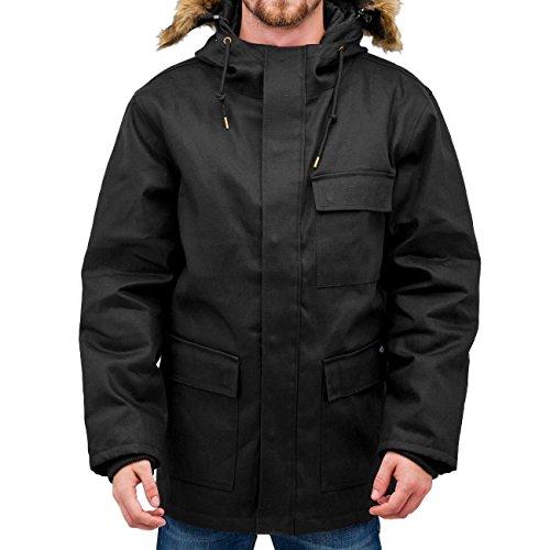 Dickies Elmwood Parka Jacket Black Large