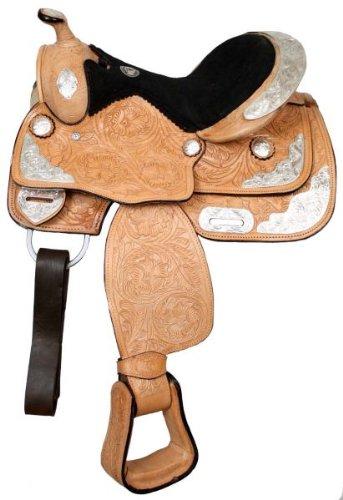 "Double T Pony Show Saddle 12"" Seat"