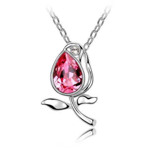 Boxingcat Fine Jewelry Swarovski Style Clear Austrian Crystal Pendant Necklaces Bgca4958 front-349378