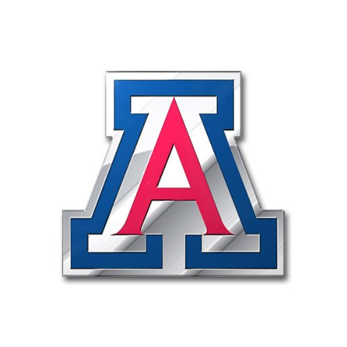 Arizona Wildcats 3D Metal Die Cut COLOR Chrome Auto Emblem Decal University of (University Of Arizona Auto Decal compare prices)