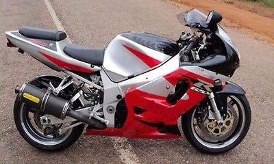 Red Silver Black Complete Injection Fairing for 2001-2003 Suzuki GSXR 600 750 (2001 Gsxr 750 Parts compare prices)