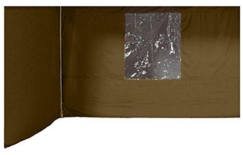 Garden Impressions Pavillon Amanda Set, 2 Seitenwände, Dunkel Beige, 3x3m günstig kaufen
