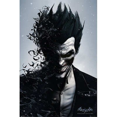 Batman Arkham Origins (Joker) Video Games Poster