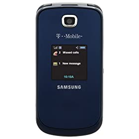 Samsung T259 Phone, Blue (T-Mobile)