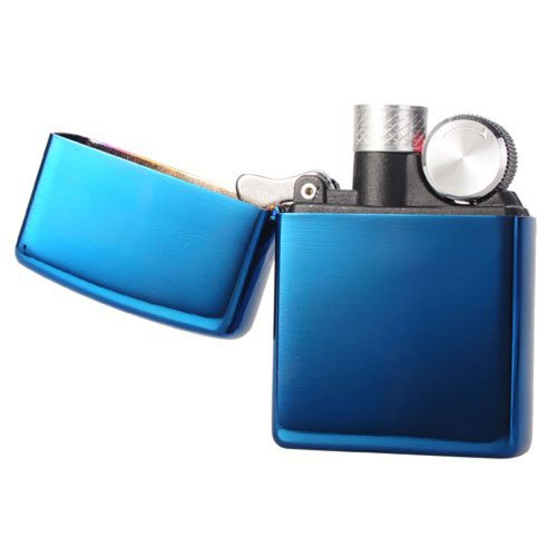 Samyo-Usb Electronic Rechargeable Flameless Cigarette Cigar Lighter (Blue)