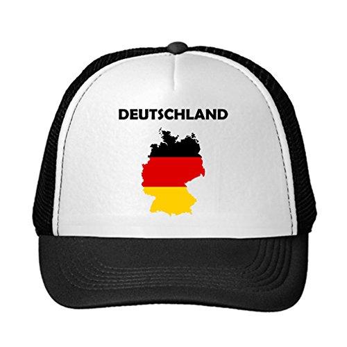 Germany Deutschland Flag Adjustable Trucker Hat Cap