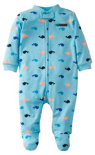 Carter'S Baby Boys' Print Sleep N Play (Baby) - Light Blue Whale - Newborn front-163077