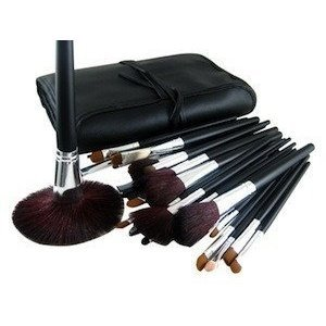 Glow 34 Piece Professional Cosmetic Make up Brushes Set
