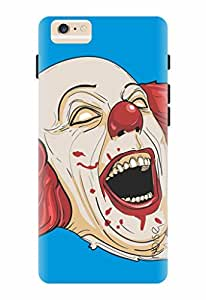 Noise Bloody Joker Blue Printed Cover for Apple Iphone 6S