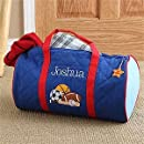 Personalized Boys Sports Duffle Bags