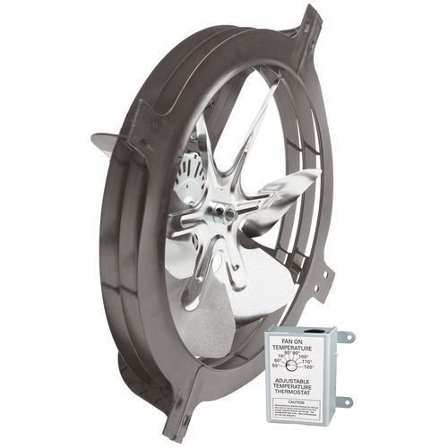New Air Vent 53319 Gable Mount Power Attic Ventilator Fan 1320 CFM up to 1900 sq ft (Welding Helmet Ventilator compare prices)