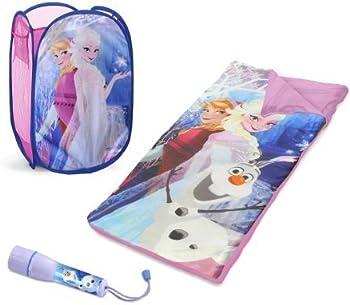 Disney Frozen Sleepover Set w/ BONUS Hamper