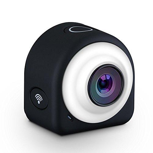 Qtuo アクションカメラ 運転レコーダー 運動カメラ 磁気設計 145広角...
