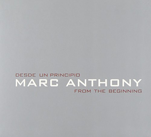CD : Marc Anthony - Desde Un Principio: From the Beginning (CD)