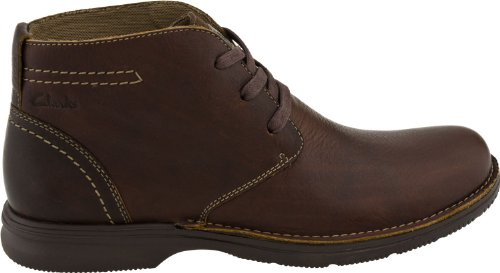 Clarks Men's Senner Ave Boot,Brown Tumbled Leather,10.5 M US