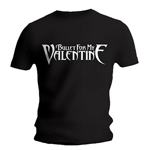 Bullet For My Valentine-T-shirt con Logo nero medium
