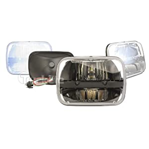 Truck-Lite 27450C 5'' x 7'' Rectangular LED Headlamp, Complex Reflector Optics