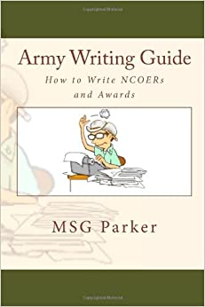 army guide to writing awards sample
