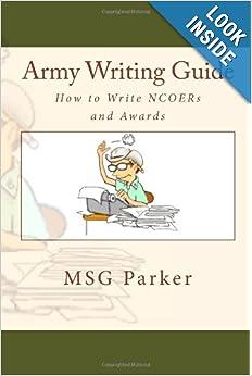 Annual writing awards army