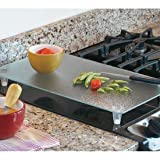 Instant Counter Tempered Glass Cutting Board