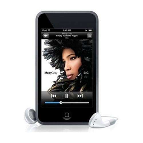Apple iPod Touch - Tragbarer MP3-Player mit integrierter WiFi Funktion 16 GB schwarz