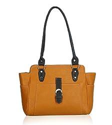 Fantosy Women's Handbag (Tan) (FNB-524)