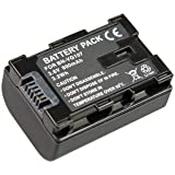 Batterie de Remplacement pour Batterie de JVC: Type BN-VG108E