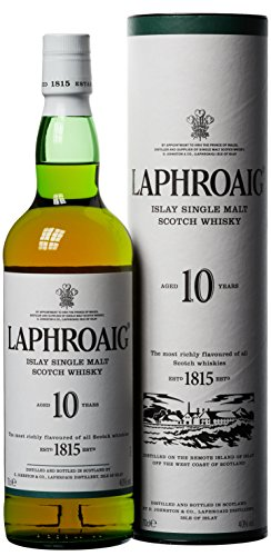 Laphroaig 10 Jahre Islay Single Malt Scotch Whisky (1...