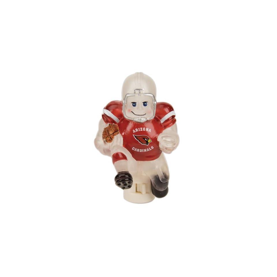 5 NFL Arizona Cardinals Acrylic Running Football Player